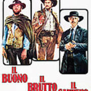The Good, The Bad And The Ugly, Clint Poster