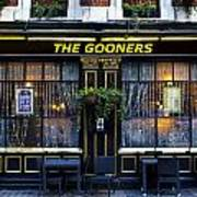 The Gooners Pub Poster