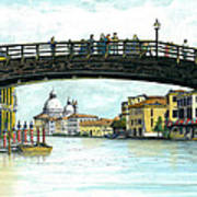 The Grand Canal Venice Italy Poster