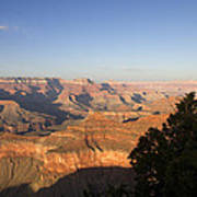 The Grand Canyon Towards Sunset Poster