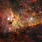 The Great Nebula In Carina Poster