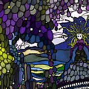 The Grape Arbor Medusa Poster by Constance Krejci