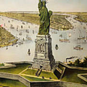 The Great Bartholdi Statue Poster