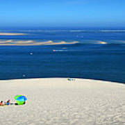 The Great Dune Of Pila In Arcachon Bay Poster