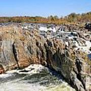 The Great Falls Of The Potomac Panorama Poster