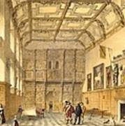 The Great Hall, Hatfield, Berkshire Poster