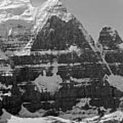 1m3752-bw-the Great North Face Of North Twin Poster