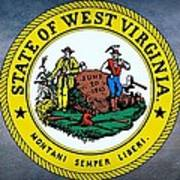 The Great Seal Of The State Of West Virginia Poster