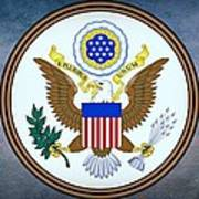 The Great Seal Of The United States  Poster
