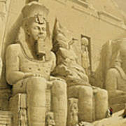 The Great Temple Of Abu Simbel Poster