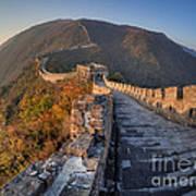 The Great Wall Of China Mutianyu China Poster