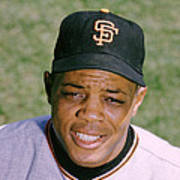 The Great Willie Mays Poster by Retro Images Archive