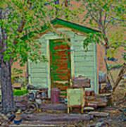 The Green Door Poster