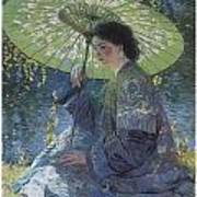 The Green Parasol Poster