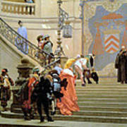 The Grey Cardinal Poster by Jean Leon Gerome