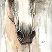 The Grey Horse Portrait 2014 02 10 Poster