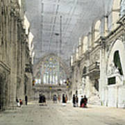 The Guildhall, Interior, From London As Poster