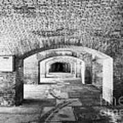 The Gunrooms In Fort Jefferson Dry Tortugas National Park Florida Keys Usa Poster