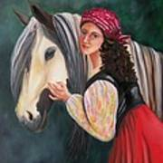 The Gypsy's Vanner Horse Poster
