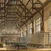 The Hall Of Trinity College, Cambridge Poster
