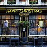 The Happy Christmas Pub Poster