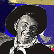 The High Chaparral Cameron Mitchell Publicity Photo Number 1 Poster