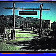 The High Chaparral Set  1984 Collage Old Tucson Arizona 1984-2012 Poster