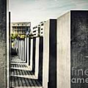 The Holocaust Memorial Berlin Germany Poster
