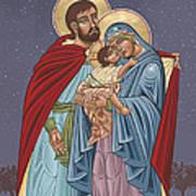 The Holy Family For The Holy Family Hospital Of Bethlehem Poster