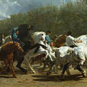The Horse Fair Poster