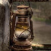 The Hurricane Lamp Poster