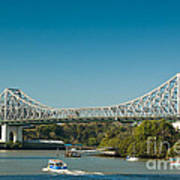 The Icon Of Brisbane - Story Bridge Poster