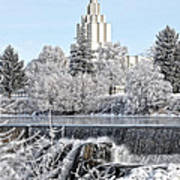 The Idaho Falls Temple Poster