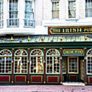 The Irish Pub - Philadelphia Poster
