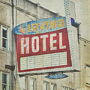 The Irving Hotel In Chicago Poster