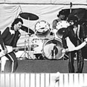 The J. Geils Band Rock Out In Oakland In 1976 Poster