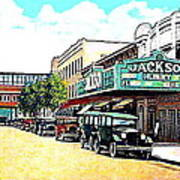 The Jackson Theatre In Jackson Hts. Queens N Y In 1930 Poster