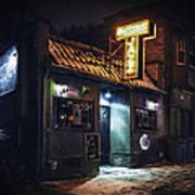 The Jazz Estate Nightclub Poster