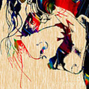 The Joker Heath Ledger Collection Poster