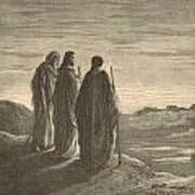 The Journey To Emmaus Poster