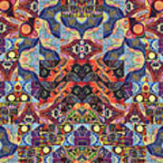 The Joy Of Design Mandala Series Puzzle 1 Arrangement 9 Poster
