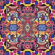 The Joy Of Design Mandala Series Puzzle 3 Arrangement 1 Poster