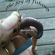 The Joy Of Fishing Poster