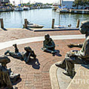 The Kunta Kinte-alex Haley Memorial In Annapolis Poster
