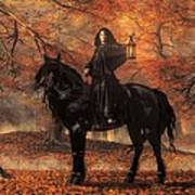 The Lady Of Halloween Poster