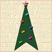 The Language Of Christmas Poster