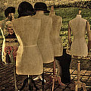 The Last Fashion Show- Old Mannequins Poster