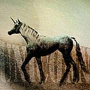 The Last Unicorn Poster by Bob Orsillo