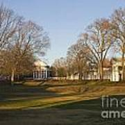 The Lawn University Of Virginia Poster