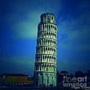 The Leaning Tower Of Pisa Italy Poster